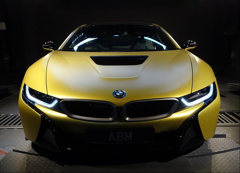 2020 BMW I8 PROTONIC EDITION (FROZEN YELLOW)
